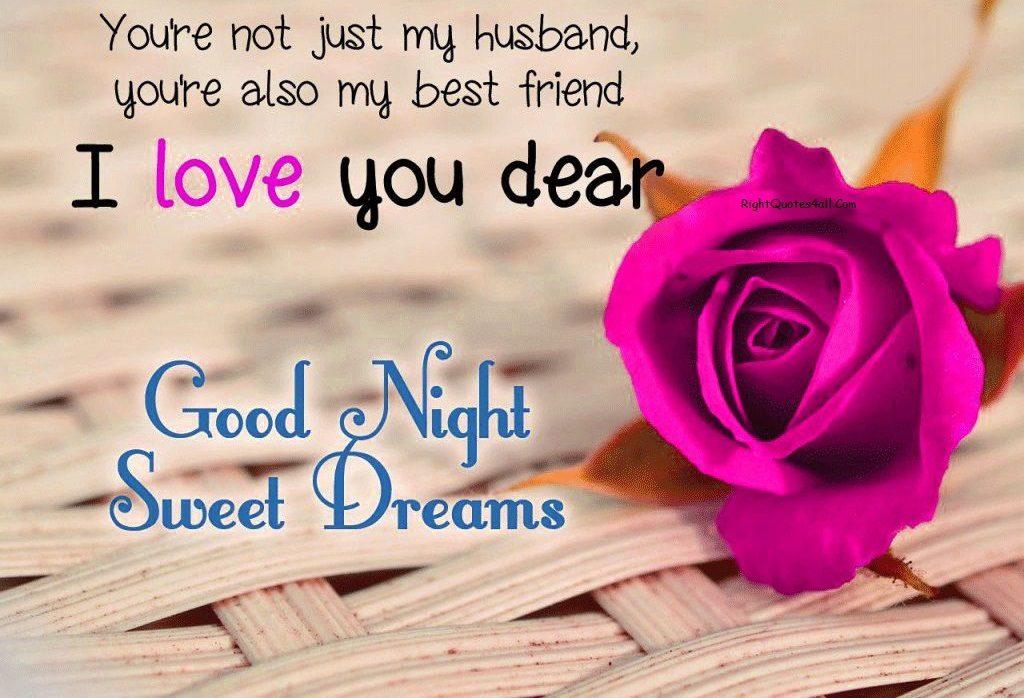 Love good night messages romantic 98 Romantic