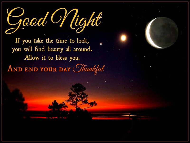 Inspirational Good Night Messages _ Good Night Quotes With