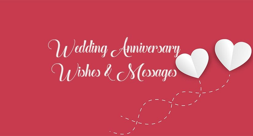 Short and Sweet Wedding Anniversary Message