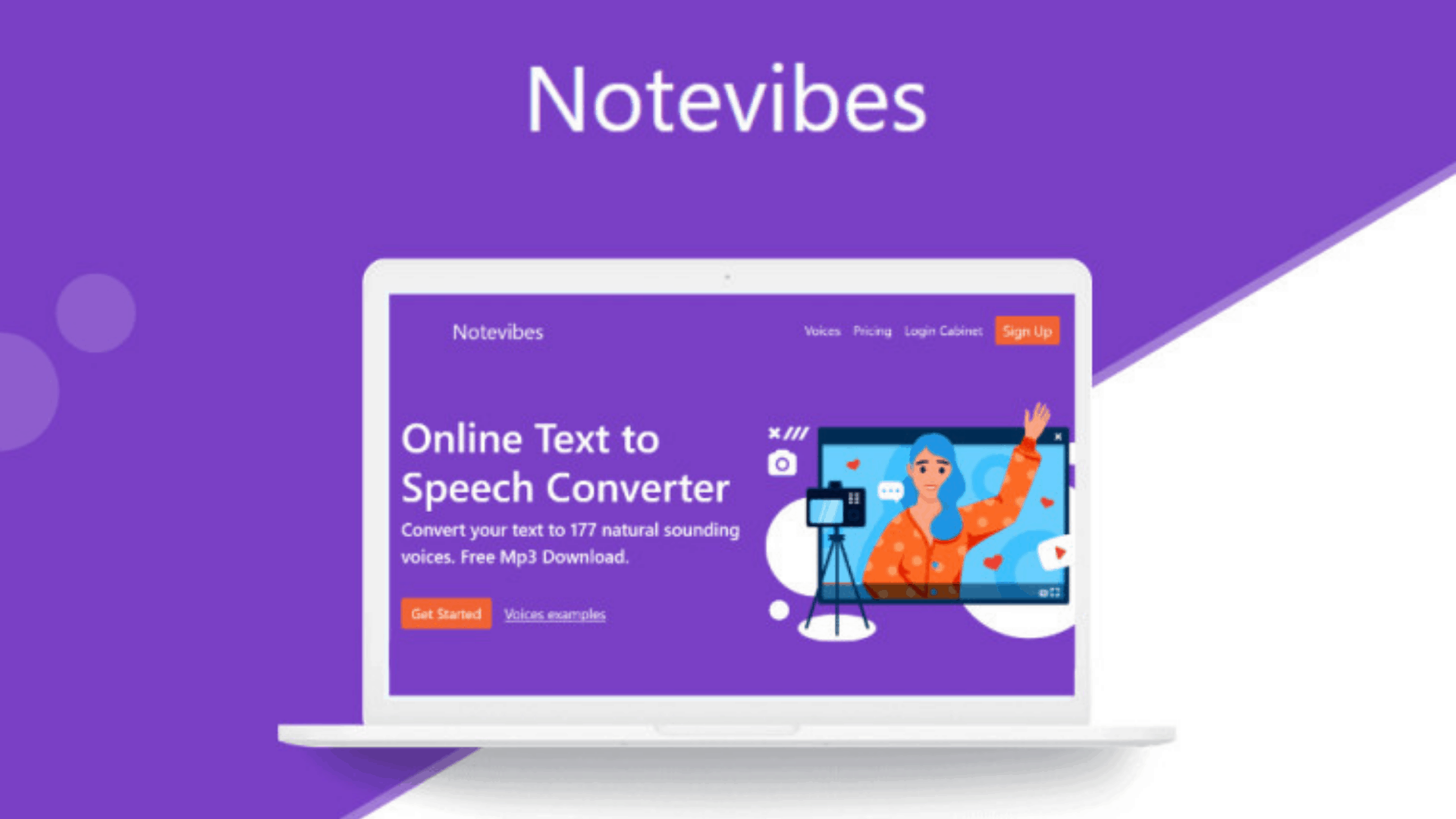 Notevibes Voice Maker