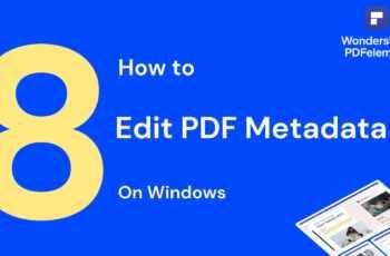 services to edit PDF metadata